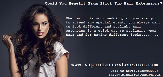 How Do You Apply Stick Tip Hair Extensions 102