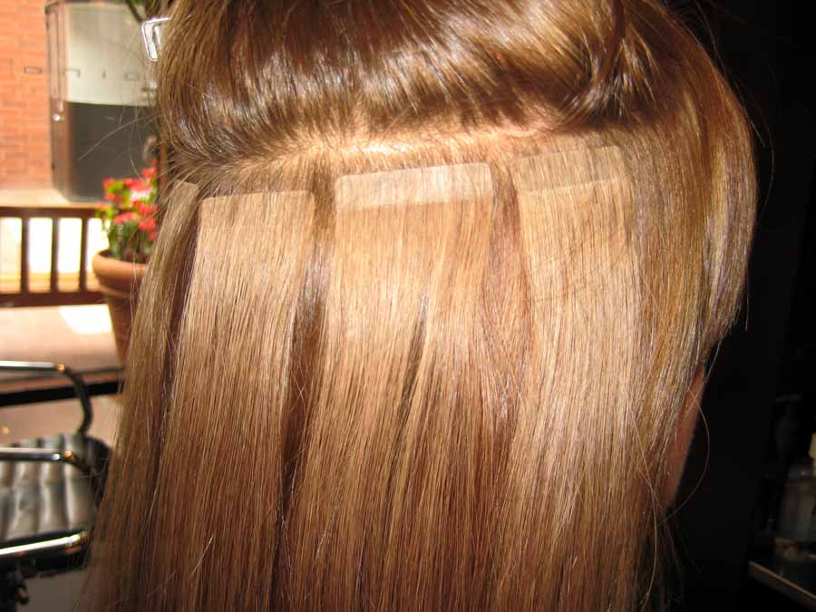 Benefits Of Tape In Hair Extensions Over The Bonded Ones