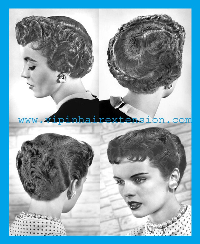 How To Do 1950s Hairstyles Vipin Hair Extension
