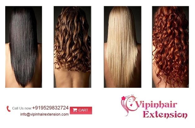 Luxurious Indian Hair Extensions using Remy hair from india.
